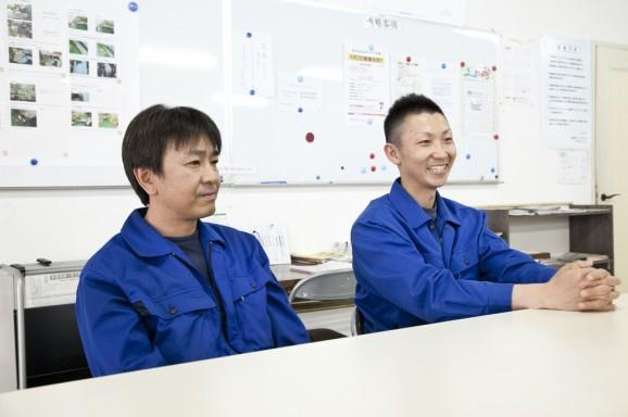 右が福田さん、左が池内さん