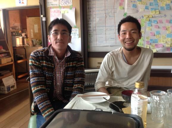 賢州さんと淺田さん