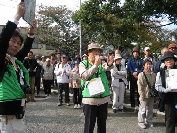 2009年11月15日東住吉区タウンウォッチング1
