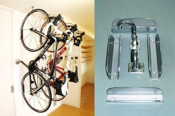 特注自転車フック