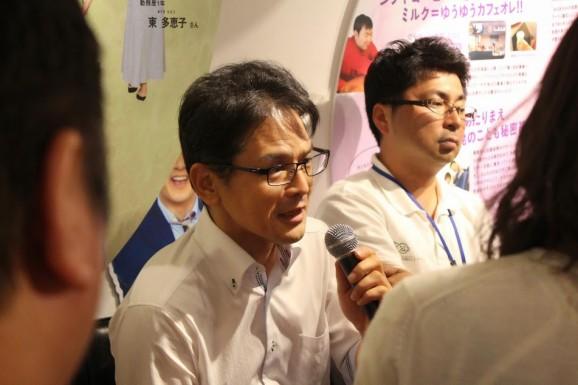 福祉の課題を語る竹村さん